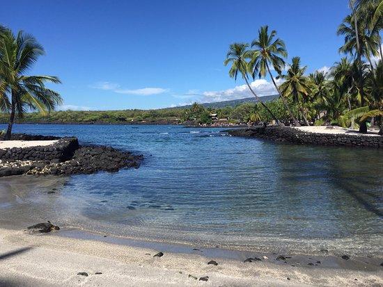 Honaunau, Hawaje: turquoise water