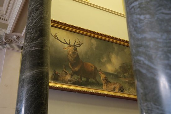 Farmleigh House and Estate: A very famous painting, our guide spent over ten minutes on it!
