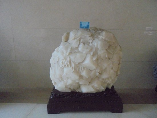 Hefei, China: Piedras no solo de formas extrañas e únicas, sino también gigantes..............................