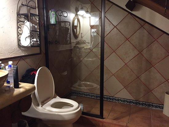 Casa de los Arcangeles : Pésimo hotel, todo esta sucio. La suite NO es suite, no tiene ventanas solo tragaluces en los cu