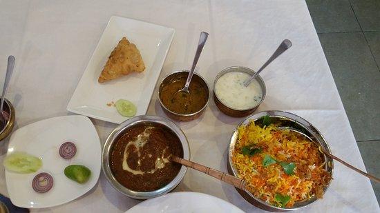 Little India: Dal makhani, egg biryani, mutton samosa (and beer)