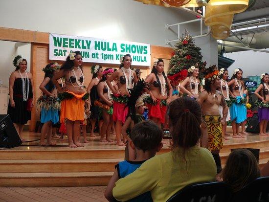 Lahaina Cannery Mall Free Hula Shows: Most of the hula dancers