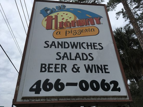 Micanopy, FL: Sign on Highway 441.