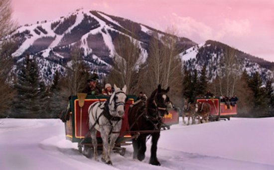 Sun Valley-Ketchum, ID: Sleigh rides are available at Sun Valley