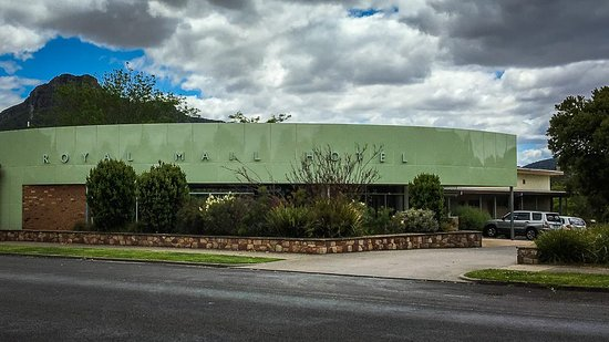 Dunkeld, Australien: The Royal Mail hotel exterior
