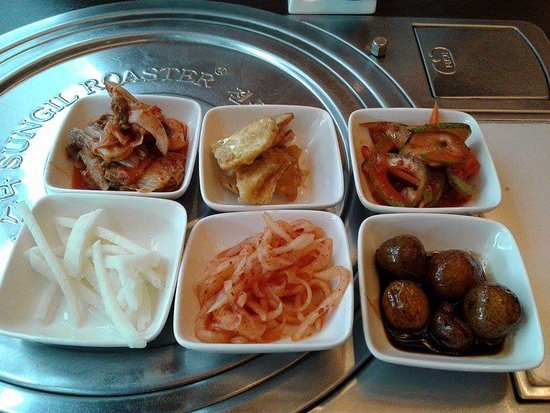 Manna Korean Restaurant: The meal in itself