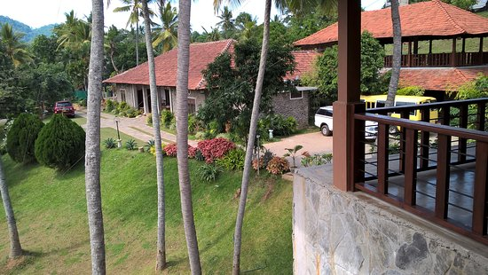 Kundasale, Sri Lanka: View from the dining area