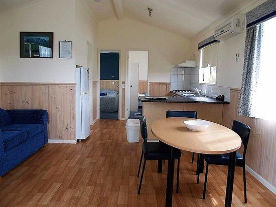 Cabin accommodation at BIG4 Ulverstone caravan park
