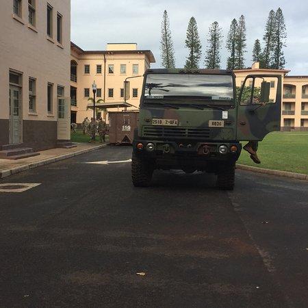 U.S. Army Schofield Barracks: Typical transport vehicle