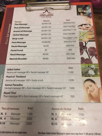Baan Sabai Massage Center (Bangkok) - 2018 All You Need to Know Before You  Go (with Photos) - TripAdvisor
