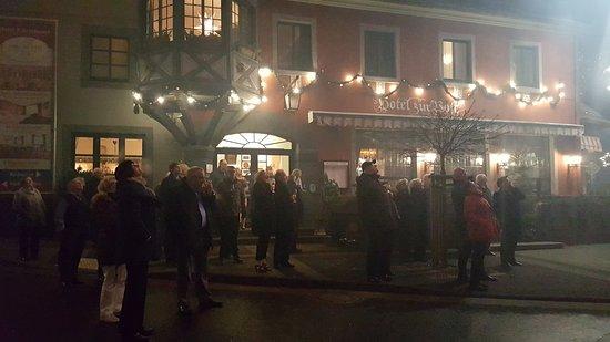 Waldbreitbach, Deutschland: Feuerwerk zu Silvester
