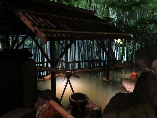 Takefue: Bamboo grove hot spring (Aug 2016)