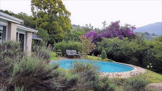 uKhahlamba-Drakensberg Park, Zuid-Afrika: Front of Cathkin Cottage