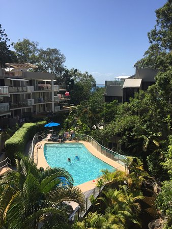 The Cove Noosa Resort: VIEW FROM OUR BALCONY