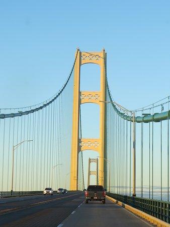 Mackinaw City, MI: Love a Good Cable Bridge