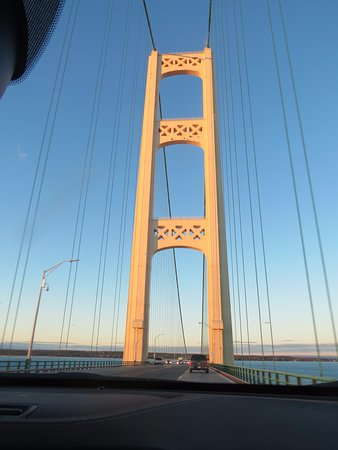 Mackinaw City, MI: Impressive Towers