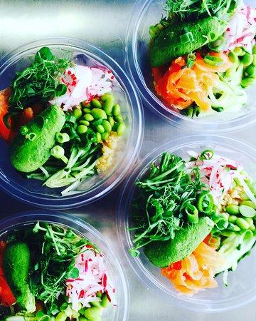 Margaret River Region, Australia: Poke Salad Bowl