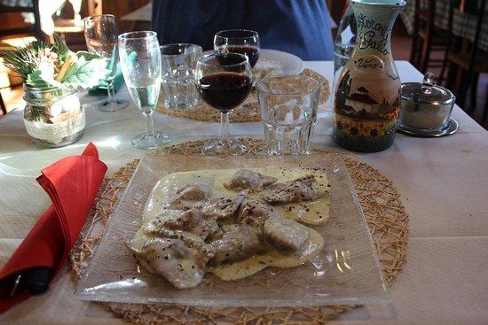 Vicchio, Italia: tortelli di porri al cacio e pepe