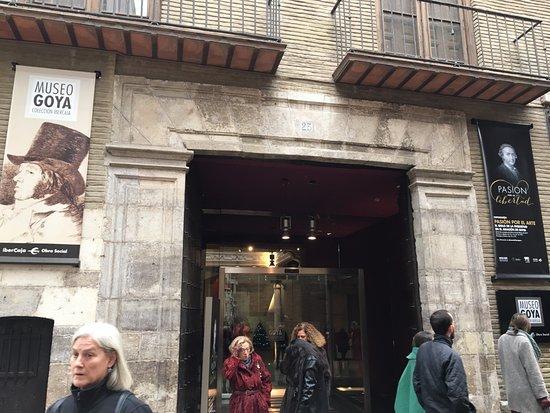 Museo Goya Colección Ibercaja: Entrance to the Goya Museum