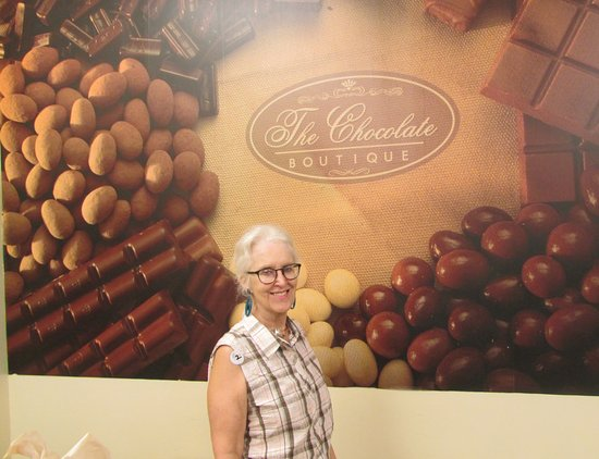 The Chocolate Boutique: Chocolate and coffee goodies to eat or buy