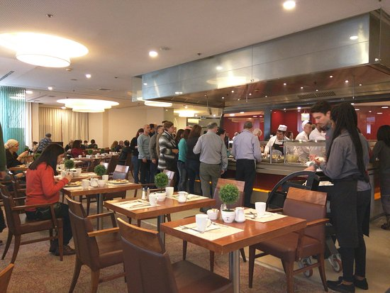 Crowne Plaza Hotel Jerusalem: Dining hall