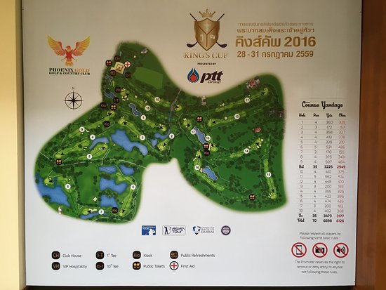 Bang Lamung, Tailandia: Great golf course nearby Pattaya Very good caddies Normally a choice of 3 courses but Lakes in u