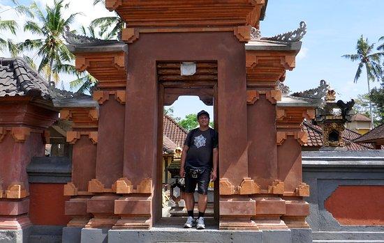 Suara Air Luxury Villa Ubud: L'entrée de la maison du propriétaire