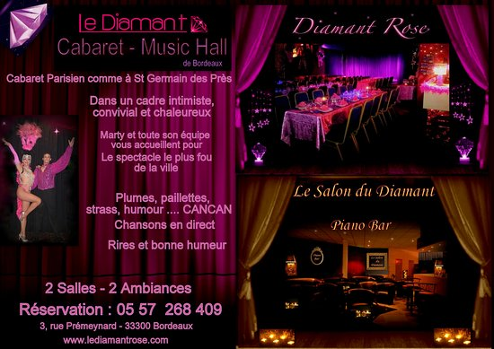 Le diamant rose bordeaux