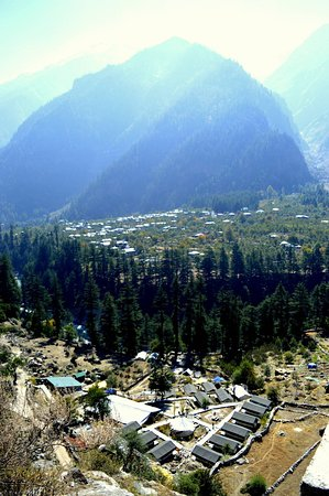 Kinner Camp Sangla: Aerial View of Kinner Camps, Sangla