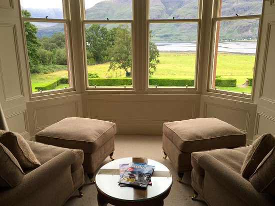 Torridon, UK: View from Master Room 3