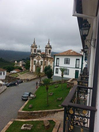 Pousada Do Mondego: Vista da varanda do meu quarto