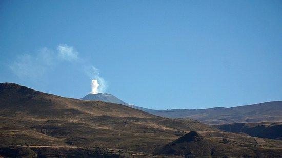 Hosteria & Spa Tradicion Colca: les volcans