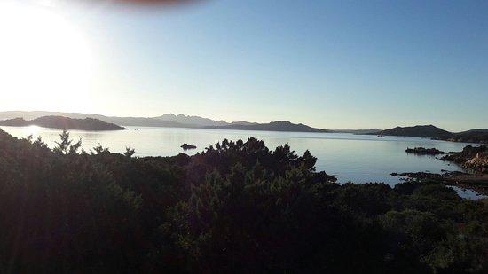 Residenza Mordini: L'arcipelago di La Maddalena visto dall'isola di Caprera
