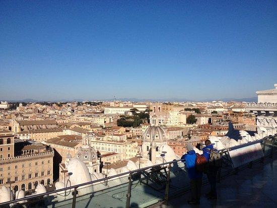 Vista di Roma dalla Terrazza - Picture of Complesso del Vittoriano ...