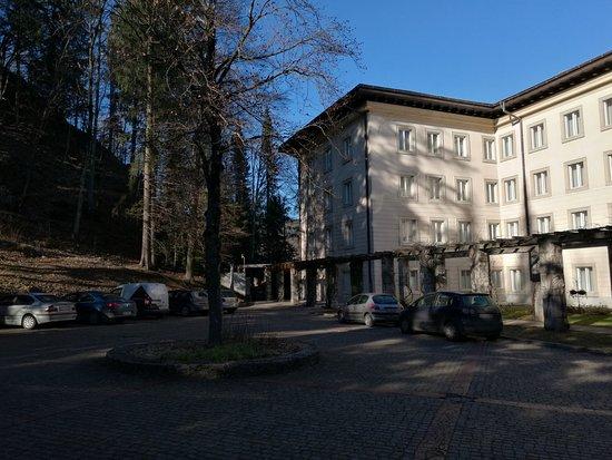 Vila Bled: Parcheggio