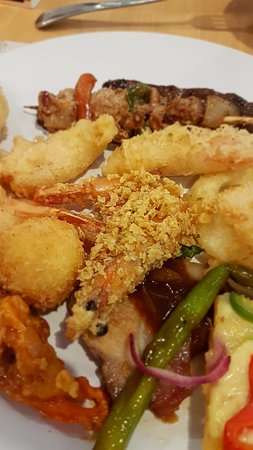 Ace International Buffet my dinner plate & my dinner plate - Picture of Ace International Buffet Pasig ...