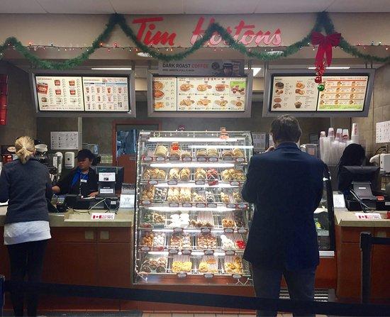 West Henrietta, NY: Tim Horton's in the Travel Plaza