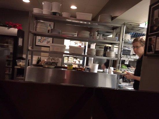 Victor, NY: Bistro 11 - kitchen
