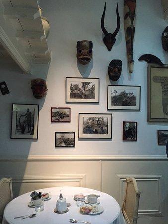 Les Chalets De Maramour: Salle des petits déjeuners