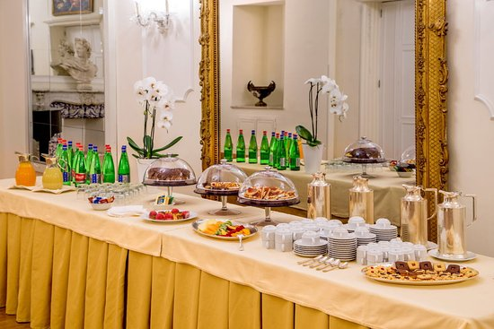 Hotel Savoy: Coffee break details