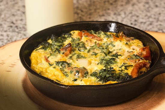 Indiana, PA: breakfast frittata