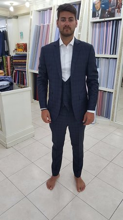 Mr. Salijaj in a trendy slim brown suit. - Picture of Instyle ...