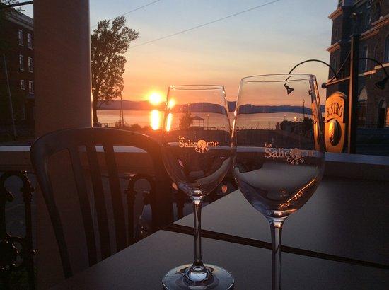 L'Islet, Kanada: De la terrasse