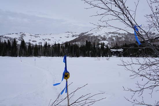 Solitude, UT: Trail is well marked