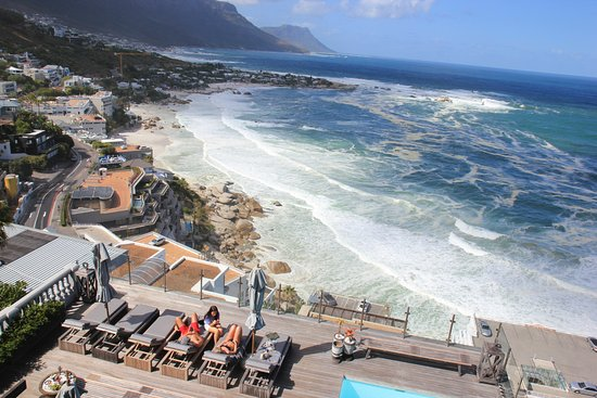 Clifton, South Africa: View from our room