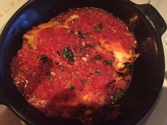 Romano's Macaroni Grill: lasagna