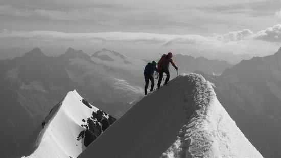 Mountain Hostel Grindelwald: Eiger top