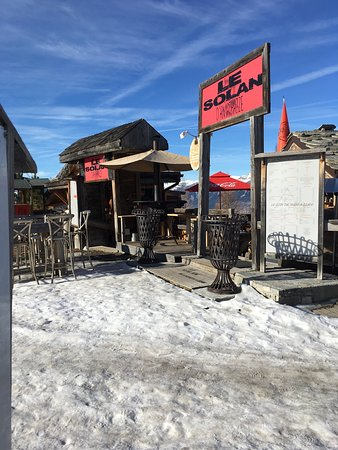 Nancroix, France: Restaurant Brasserie Bar Le Solan