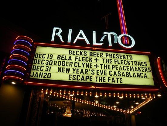 Rialto Theatre: The Rialto Theater - Tucson, Arziona