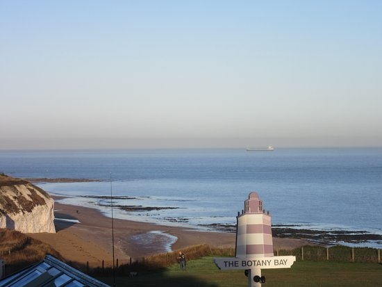Kingsgate, UK: View from our room